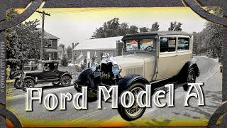 Редкий автомобиль Форд Модель А. Прародитель советского автопрома. Автообзор.