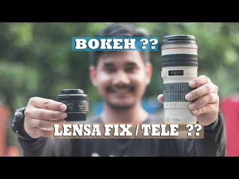 Bokeh ?? Lensa Fix Atau Lensa Tele ??