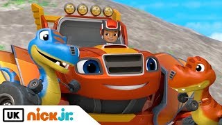 Blaze and the Monster Machines | T-Rex Trouble  | Nick Jr. UK