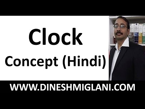 Tricks and Shortcuts to Concept of Clock ( Hindi) in Reasoning Exam by Dinesh Sir