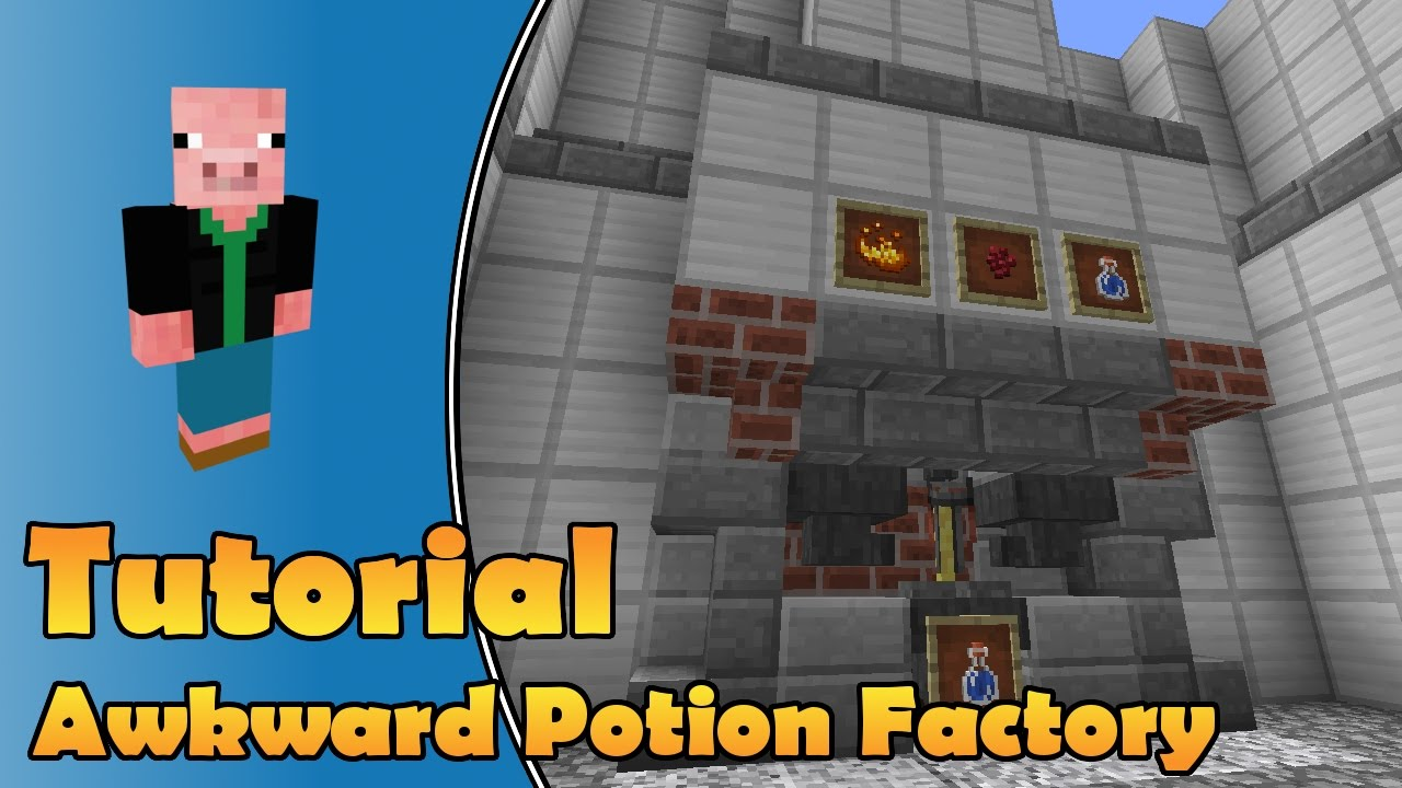 minecraft how to make awkward potion