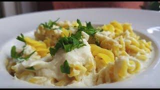 Vitalia healthy food - Вегански безглутенски тестетнини со бел алфредо сос (vege, посно)