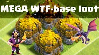 Clash of Clans-MEGA WTF-base loot