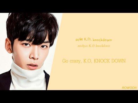 SF9 (에스에프나인) - K.O (color coded Han/Rom/Eng) lyrics