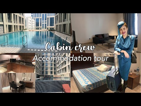 OMAN AIR CABIN CREW ACCOMMODATION TOUR | MUSCAT, OMAN 🇴🇲 ✈️