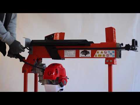 FOREST MASTER VARIOUS TONNAGE HORIZONTAL PETROL HYDRAULIC LOG SPLITTER WITH STAND - FM10PTW
