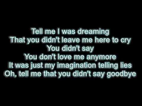 Tell Me I Was Dreaming - Travis Tritt LYRICS