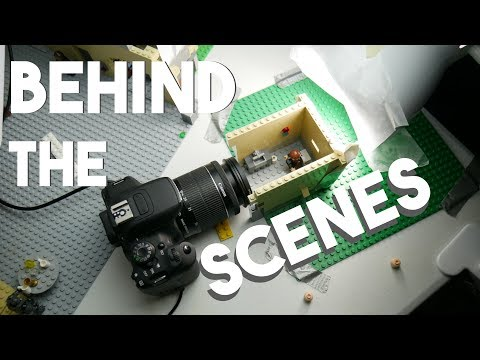 Lego Brickfilm Behind The Scenes: Star Wars Toilet Fail