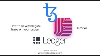 How to store and bake/delegate Tezos on your Ledger hardware wallet.