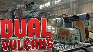 Crossout - Dual Vulcan Machinegun Build - The BEST Machineguns in Game! (Crossout Gameplay)