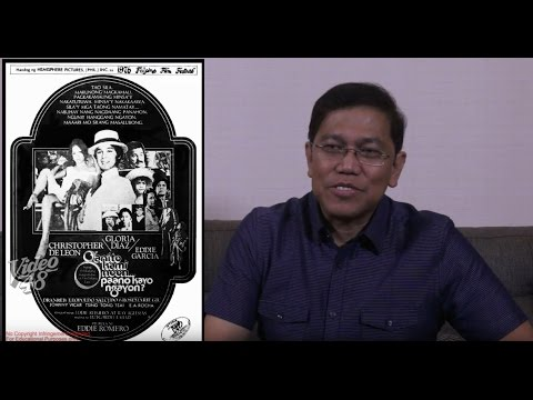Interview with an award- winning scriptwriter and filmmaker: Mr. Roy C. Iglesias (A Legacy Project)