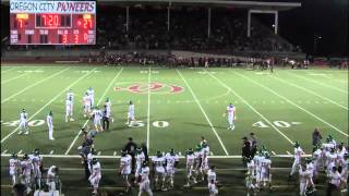 Oregon City vs West Linn Football 9/4/15