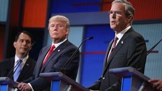 Jeb Bush Takes on Donald Trump's Immigration Plan