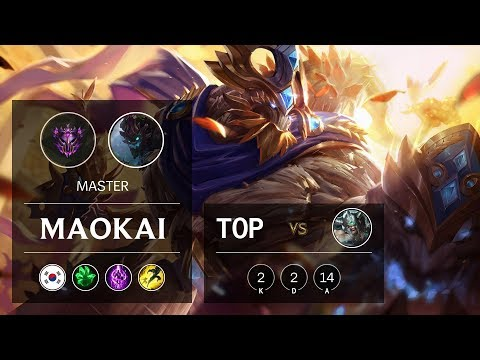 Maokai Top vs Tryndamere - KR Master Patch 9.19