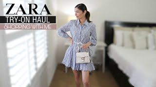 ZARA TRY-ON HAUL 2021 + SHOPPING WITH ME + GRWM   The Allure Edition VLOG