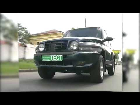 SsangYong Korando Тест Драйв 2003 Зеленый фургон