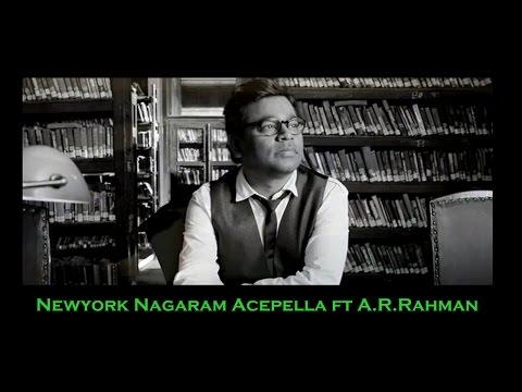 Newyork Nagaram Acapella ft A.R.Rahman | hummingjays