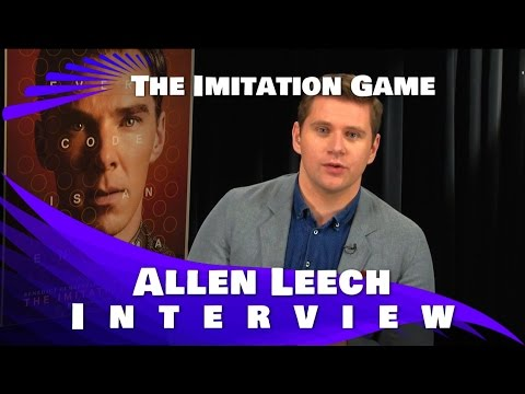 Allen Leech Interview : The Imitation Game and Downton Abbey