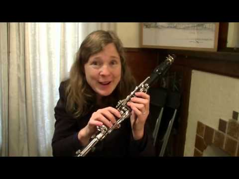 Clarinet High Notes 101: How to play high notes better part 1 - the basics