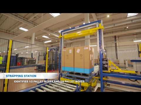 FM LOGISTIC CO-PACKING : INNOVATION IN AUTOMATISATION (UK)