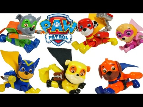 PAW PATROL SUPER PUPS SUPERHEROES SURPRISE EGG CHASE MARSHAL