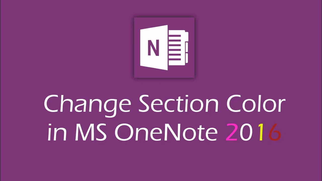 how to change text color on onenote