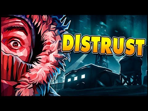 WE ARE NOT ALONE! Surviving In An Abandoned Arctic Research Base! - Distrust Gameplay