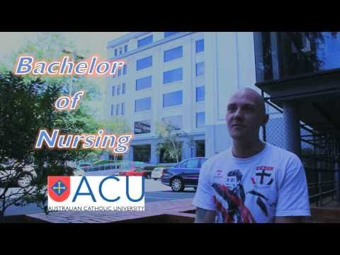Meet David, An International Nursing Student At The Australian Catholic University