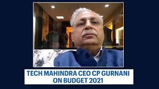 Right cuisine for the occasion, says CP Gurnani | Budget 2021