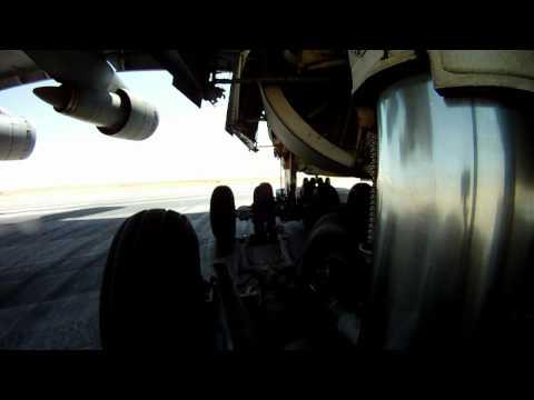 Lockheed C-5 Galaxy Gear on Taxi and Take-off