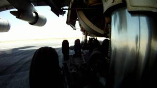 Lockheed C-5 Galaxy Gear on Taxi and Take-off
