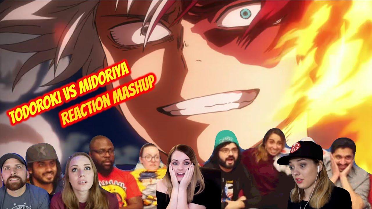 Download Todoroki vs Midoriya Full Fight(minimum talking) Reaction Mashup