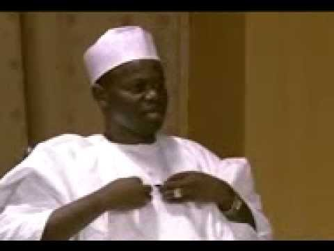 ATIKU; former vice president and president federal republic of NIGERIA 2015.  vol: 1