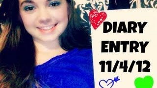 My Secret Diary! - 11/4/12