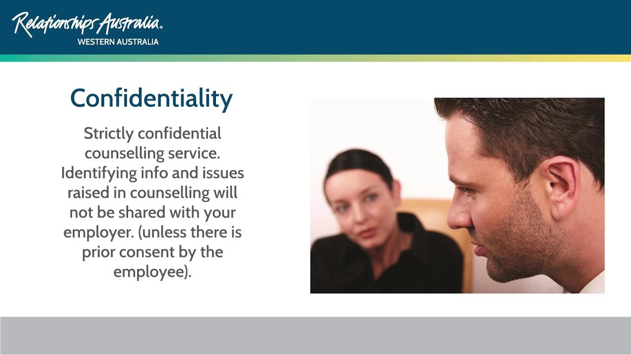 Employee Assistance Program - Relationships WA