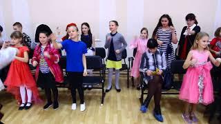 ПРАЗДНИК НГ 2017-18, 4 А класса шк.76 г.Красноярск