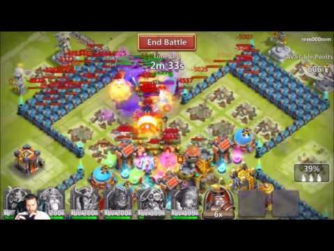 Guild Wars Vs Patmas38 and QIP 2800 Score Castle Clash