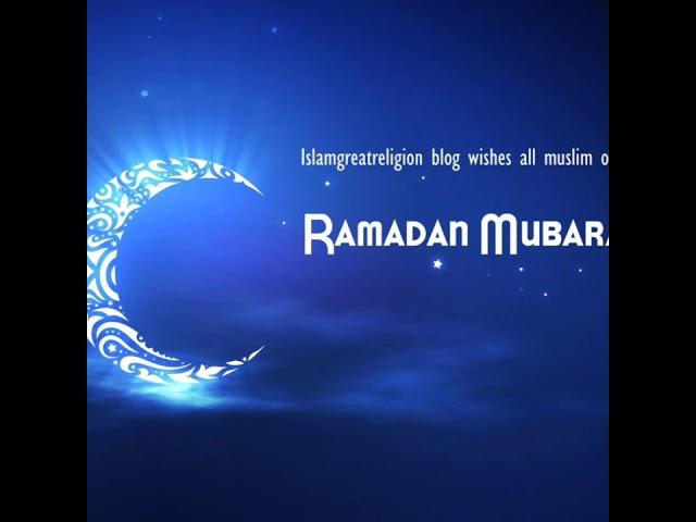 Selamat Beribadah di Bulan Suci Ramadhan