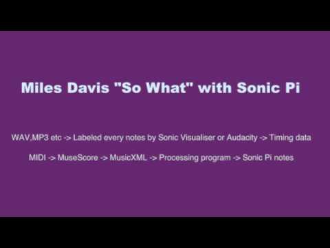 Sonic Piメモ