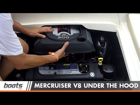 MerCruiser Debuts an All New 6 2L V8 Inboard and Sterndrive Marine