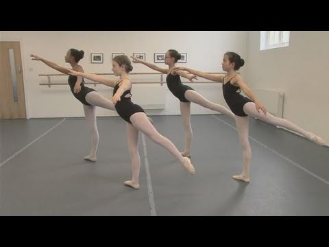 26edac8d19ace How To Practice The Arabesque In Ballet - YouTube