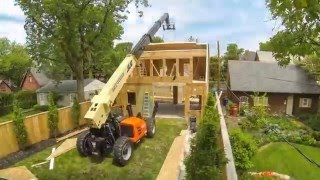 Zimmerman Remodeling & Construction, Inc. Garage/Carriage House TimeLapse