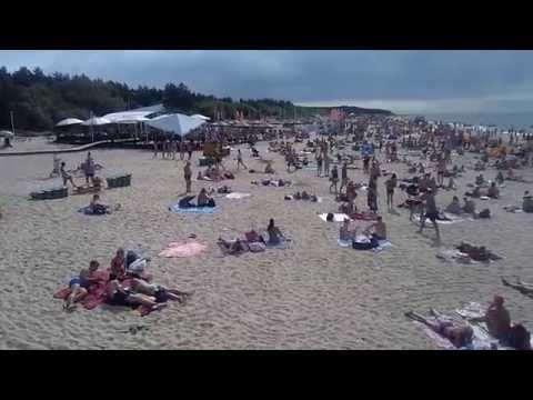The most beautiful of the Baltic states, Lithuania, holiday resort of Palanga