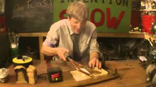 Furze&#39s Invention Show Toasting Knife