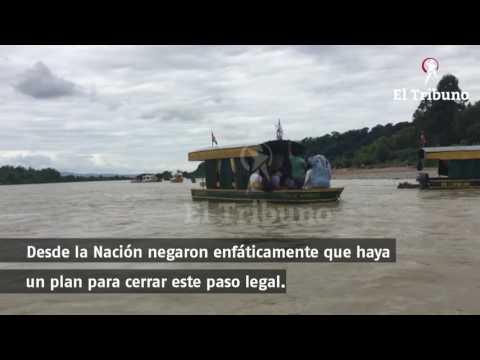 Quieren impedir que cierren el paso de chalanas en Aguas Blancas