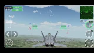 F/A- 18E, SEAD MISSION
