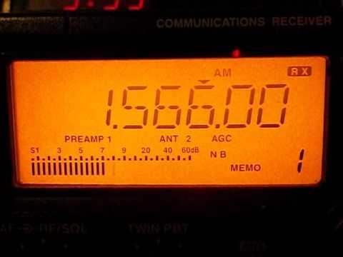 1566  khz - TransWorld Radio   BENIN