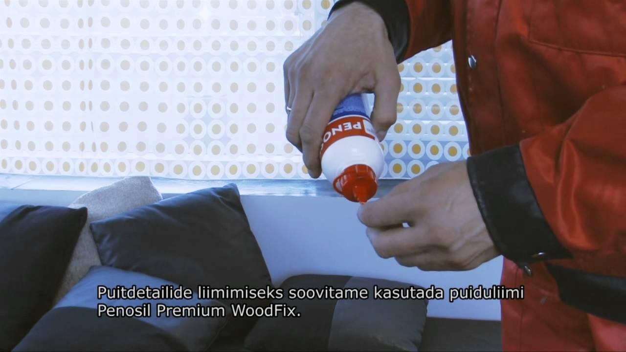 7049773802f LIIM PENOSIL PREMIUM WOODFIX 500ML - Hinnakiri