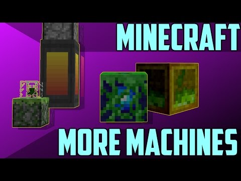More Machines in Minecraft 1.11 - Command Block Creation