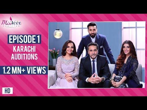 Miss Veet 2017 I Episode 1 I Karachi Auditions